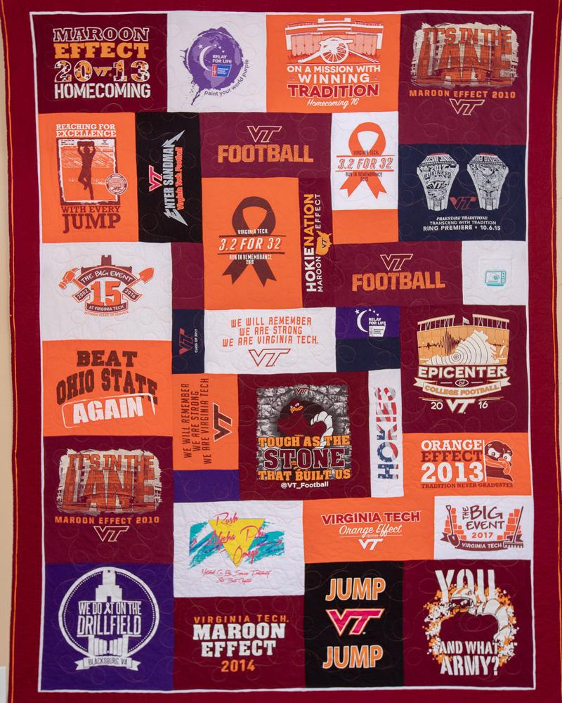 Virginia Tech Quilt