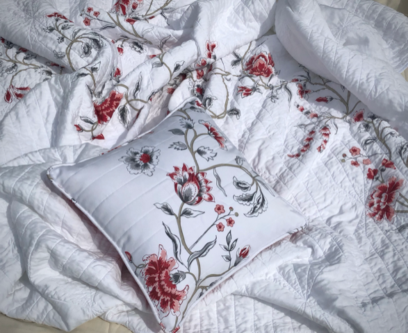 Duvet Conversion to Quilt with Pillow