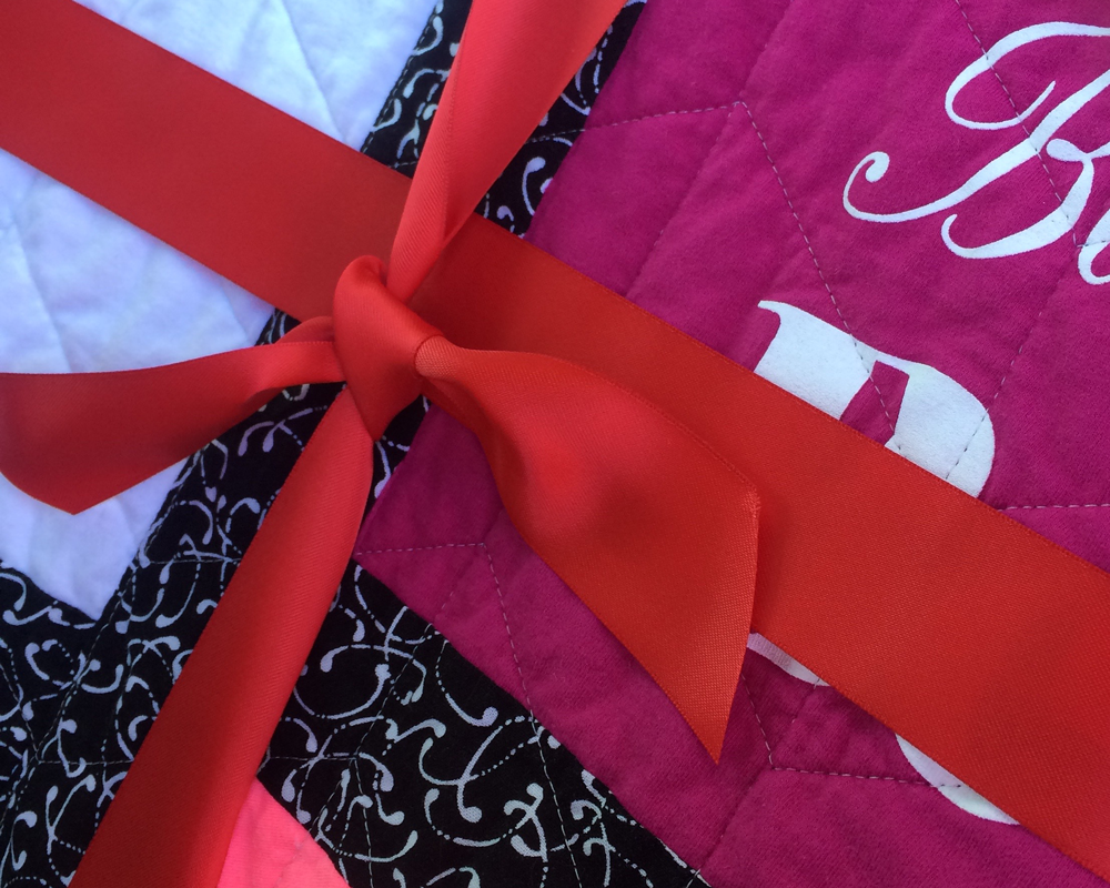 About Rhapsody red quilts