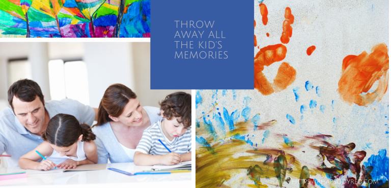 Children's Artwork Memories