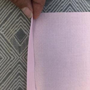 Second fold - Pillow Sham