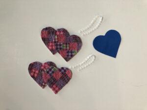 Cut Quilt Hearts